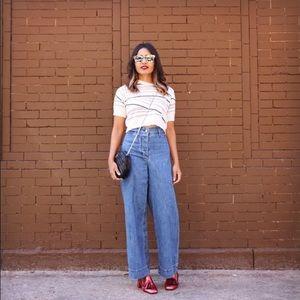 Aritzia Wilfred De Brauw free  wide leg jeans sz 0